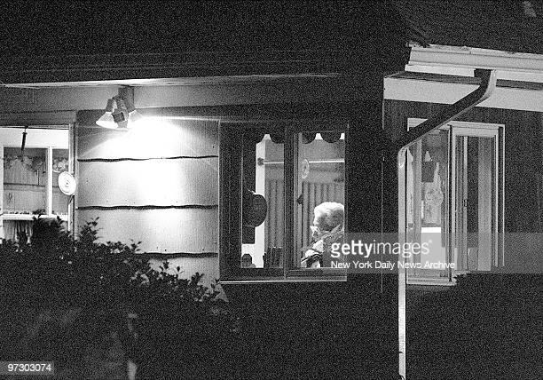 Sitting in her kitchen is mother of suspected serial killer Joel Rifkin