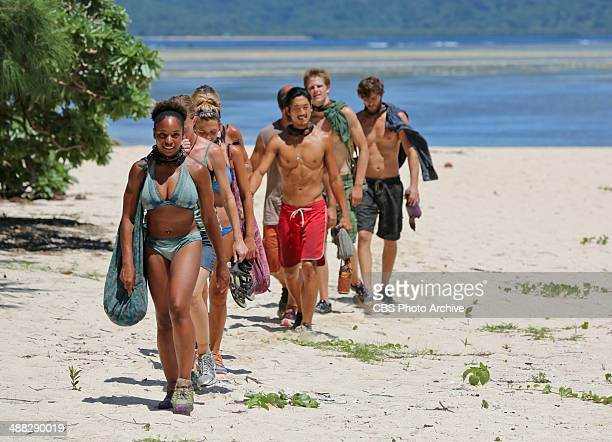 'Sitting in My Spy Shack' Latasha 'Tasha' Fox and the rest of the Solarrion Tribe arrive at the reward challenge during the ninth episode of SURVIVOR...