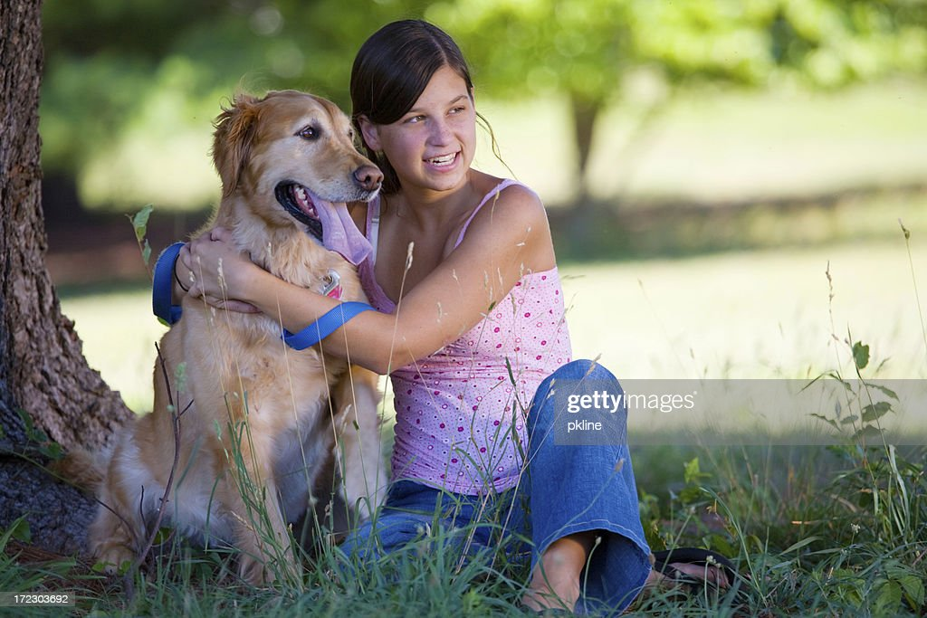 Sitting in the Shade : Stock Photo