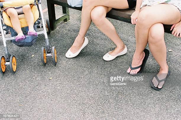 Sitting legs