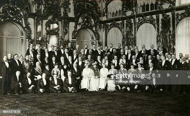 Sitting of the committee of Grand Duchess Tatiana Nikolaievna of Russia early 20th century Found in the collection of the State Museum of History...