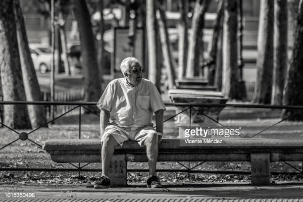 Sitting on the promenade