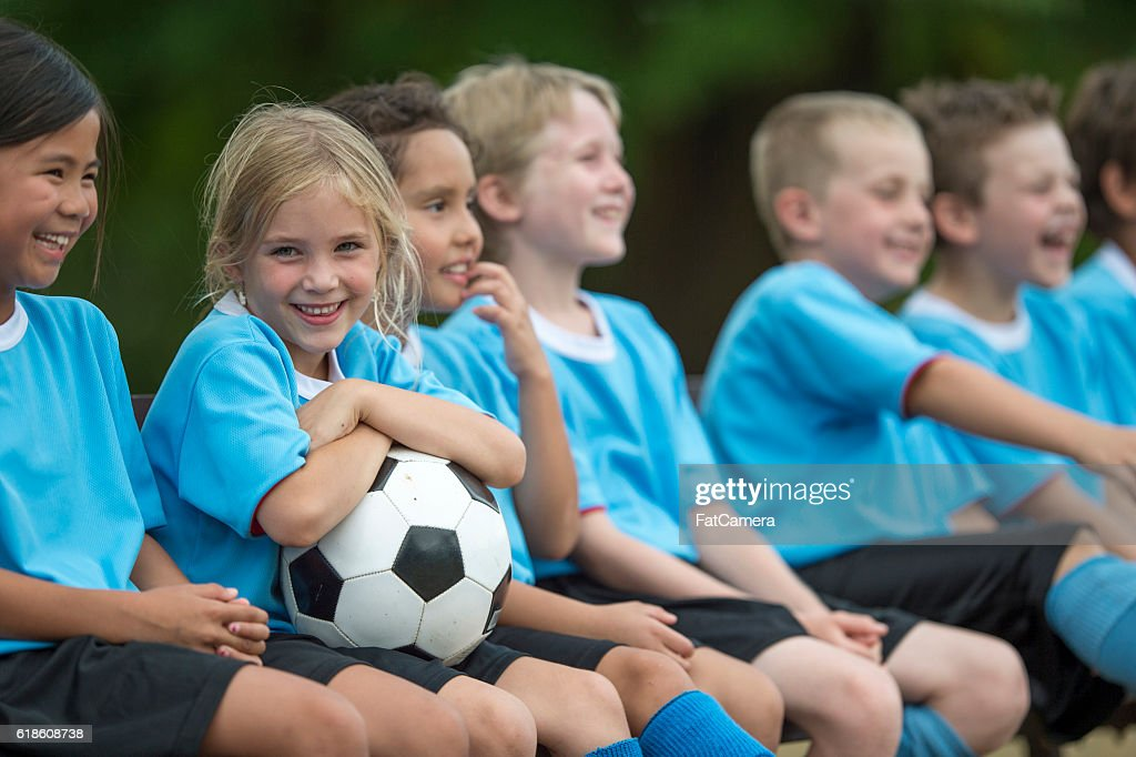 Sitting on the Sidelines : Stock Photo