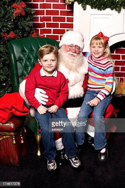 Sitzbereich mit Santa