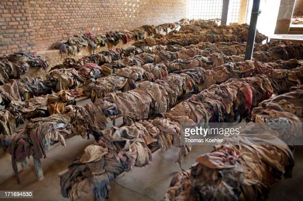Situated in the grounds of the Catholic Church in Nyamata is the Rwandan Genocide Memorial to the approximately 10000 Tutsi people who were murdered...