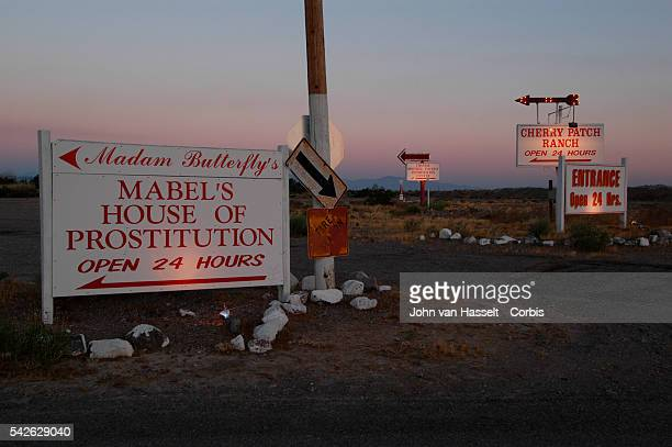 Situated in the middle of the desert about 70 miles northwest of Las Vegas in Nye County this road leads to Mabel's Whorehouse better known as Madam...