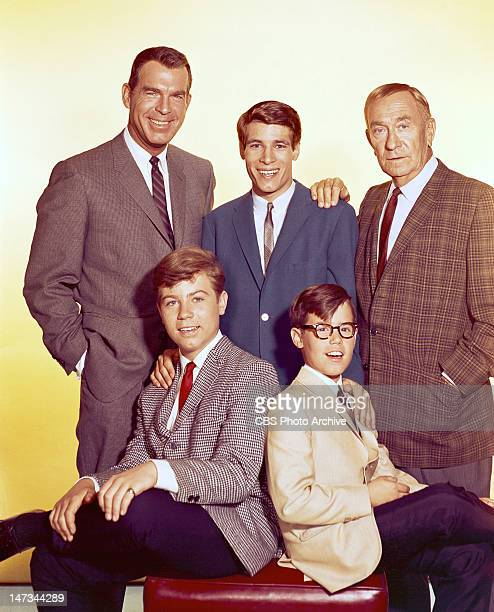 SONS situation comedy featuring Fred MacMurray as Steve Douglas Don Grady as Robbie Douglas William Demarest as Uncle Charley O'Casey Barry...