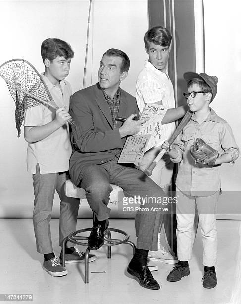 SONS situation comedy featuring Stanley Livingston as Chip Douglas Fred MacMurray as Steve Douglas Don Grady as Robbie Douglas and Barry Livingston...