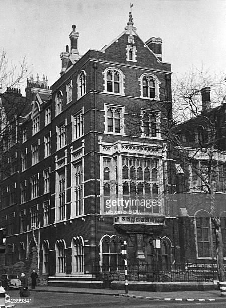 Sitz der Nachrichtenagentur Reuters London vor dem Umzug in die Fleet Street veröff 1940