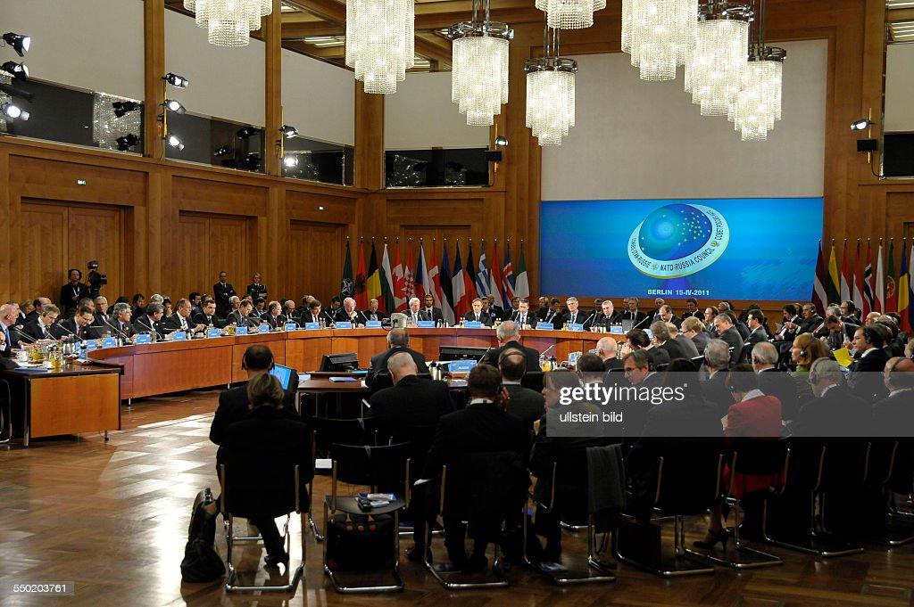 NATO-Außenministertreffen in Berlin : News Photo