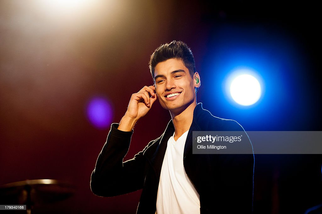 Siva Kaneswaran of The Wanted performs on stage on Day 2 of Fusion Festival 2013 at Cofton Park on September 1, 2013 in Birmingham, England.