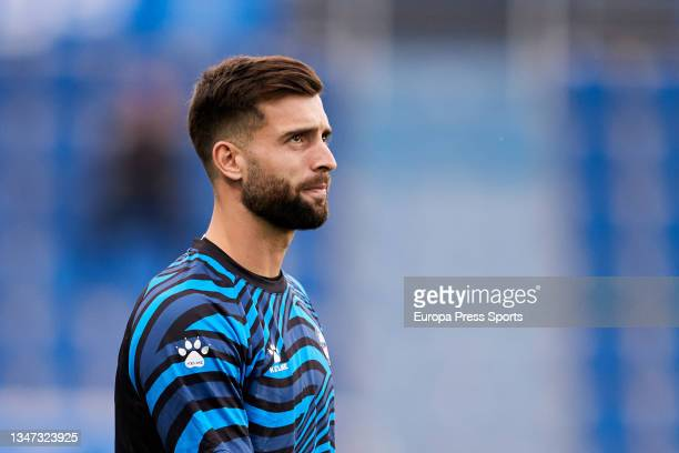 Sivera of Alaves looks on prior the spanish league, LaLiga, football match between Deportivo Alaves and Real Betis Balompie at Mendizorrotza on 18 of...