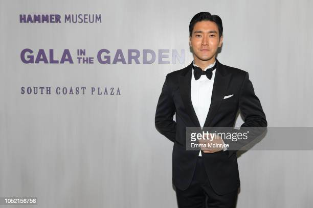 Siwon Choi attends the Hammer Museum 16th Annual Gala in the Garden with generous support from South Coast Plaza at the Hammer Museum on October 14...