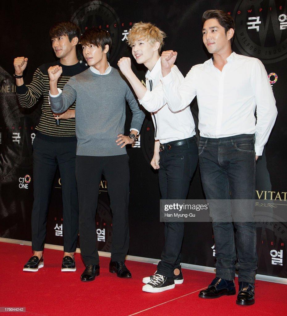 'Snowpiercer' South Korea Premiere
