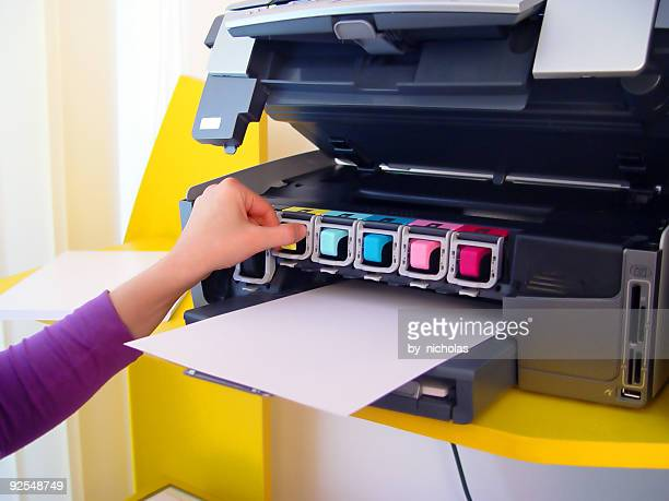 Six inks printer
