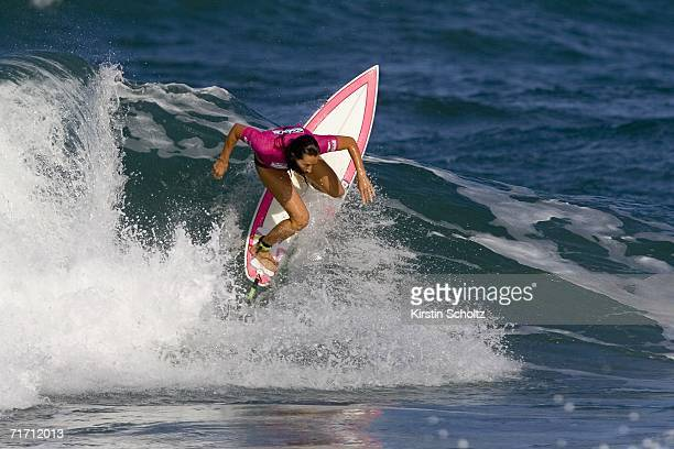 Six times ASP Women's world champion Layne Beachley of Australia earns yet another victory at the Billabong Girls Pro where she defeated Serena...