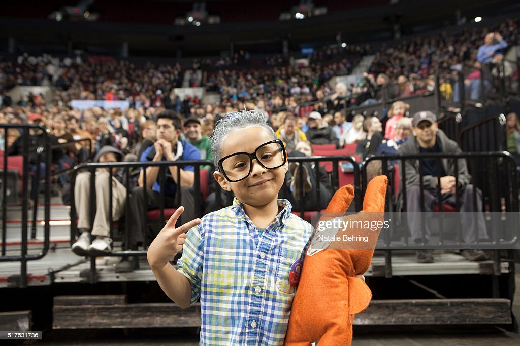 Six year old Jesus Marques is dressed up as a miniBernie Sanders at a political rally March 25, 2016 in Portland, Oregon. Sanders spoke to a crowd of more than eleven thousand about a wide range of issues, including getting big money out of politics, his plan to make public colleges and universities tuition-free, combating climate change and ensuring universal health care.