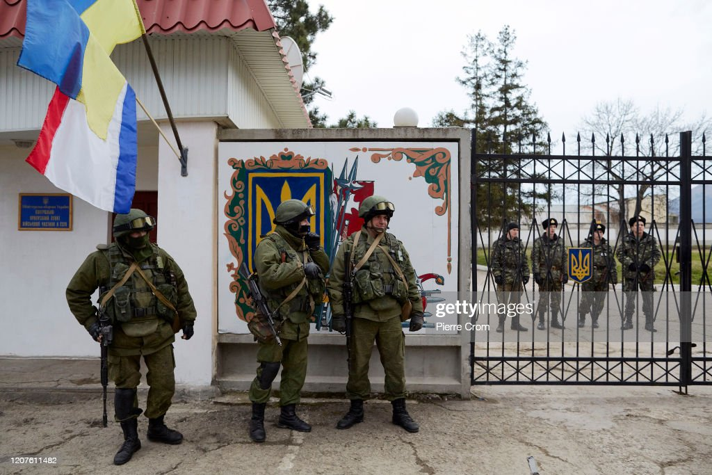 Sixth Anniversary Of The Annexation Of Crimea : News Photo