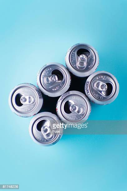 six-pack of cans - 6缶パック ストックフォトと画像