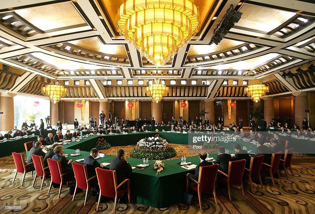 North Korea Six Party Talks : News Photo