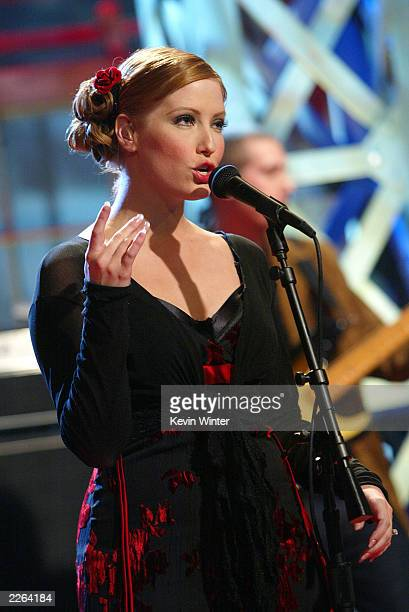 Sixpence None the Richer with singer Leigh Nash at 'The Tonight Show with Jay Leno' at the NBC Studios in Burbank Ca Thursday Nov 7 2002 Photo by...