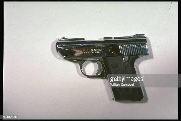 P380 sixround 380caliber $100 semiautomatic handgun aka Baby Nine made by Davis Industries of Chino CA