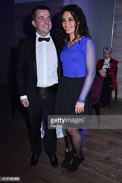 Sixt France CEO JeanPhilippe Doyen and Aida Touihri attend 'Sechez Les Petites Larmes' Auction Gala to Benefit Immunohematology Service of Andre...