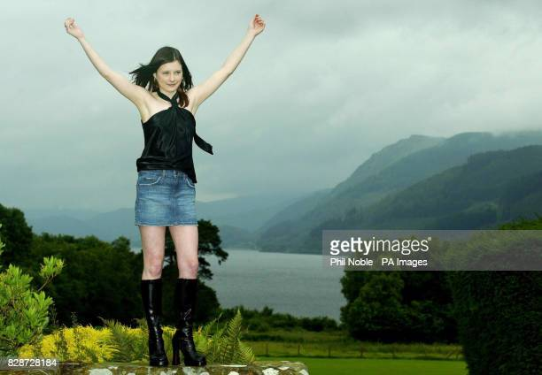 Sixteenyearold Callie Rogers from Cockermouth in Cumbria celebrates after winning 18 million on the National Lottery becoming the second youngest...
