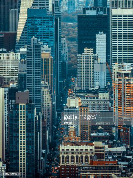 sixth avenue in manhattan - sixth avenue stock pictures, royalty-free photos & images