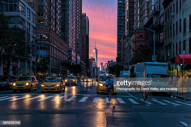sixth avenue - sixth avenue stock pictures, royalty-free photos & images