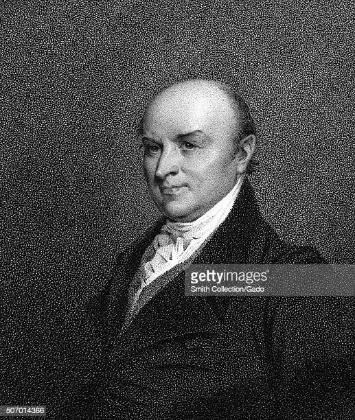 Sixth President of the United States John Quincy Adams 1900 From the New York Public Library