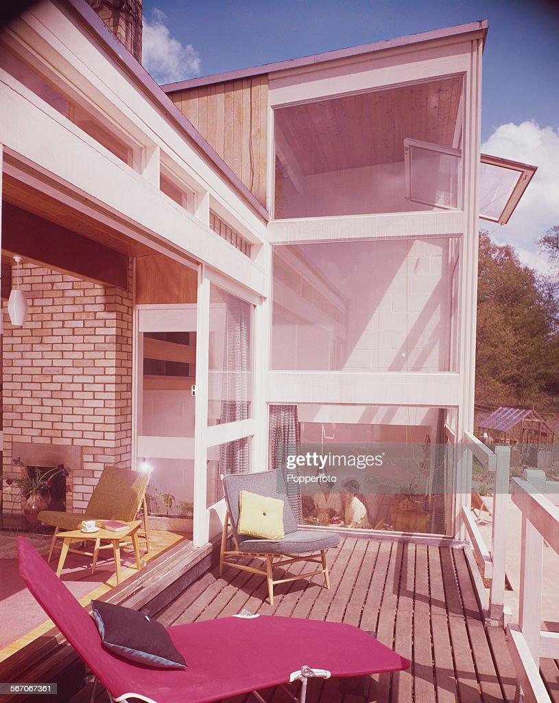 Sixties House Featuring Sun Deck : News Photo