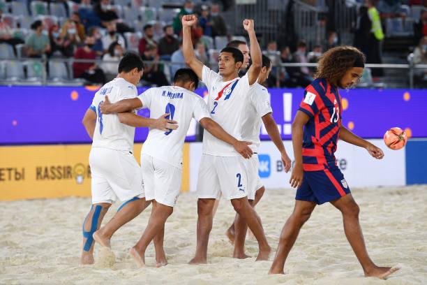 RUS: USA v Paraguay - FIFA Beach Soccer World Cup 2021
