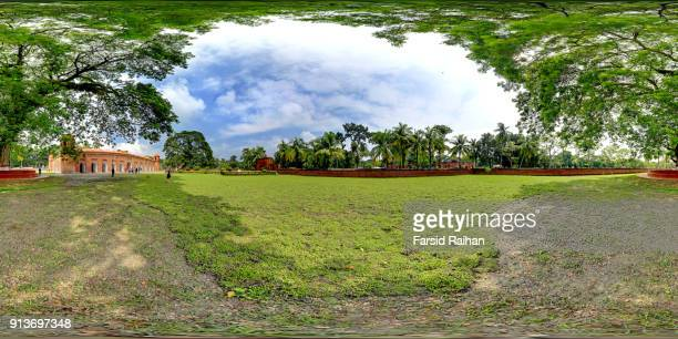 sixty dome mosque exterior- unesco world heritage site - khulna stock photos and pictures