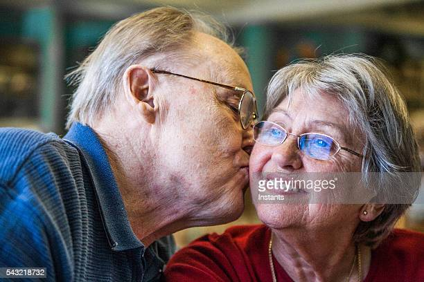 sixty years together and still in love! - 60th anniversary stock pictures, royalty-free photos & images