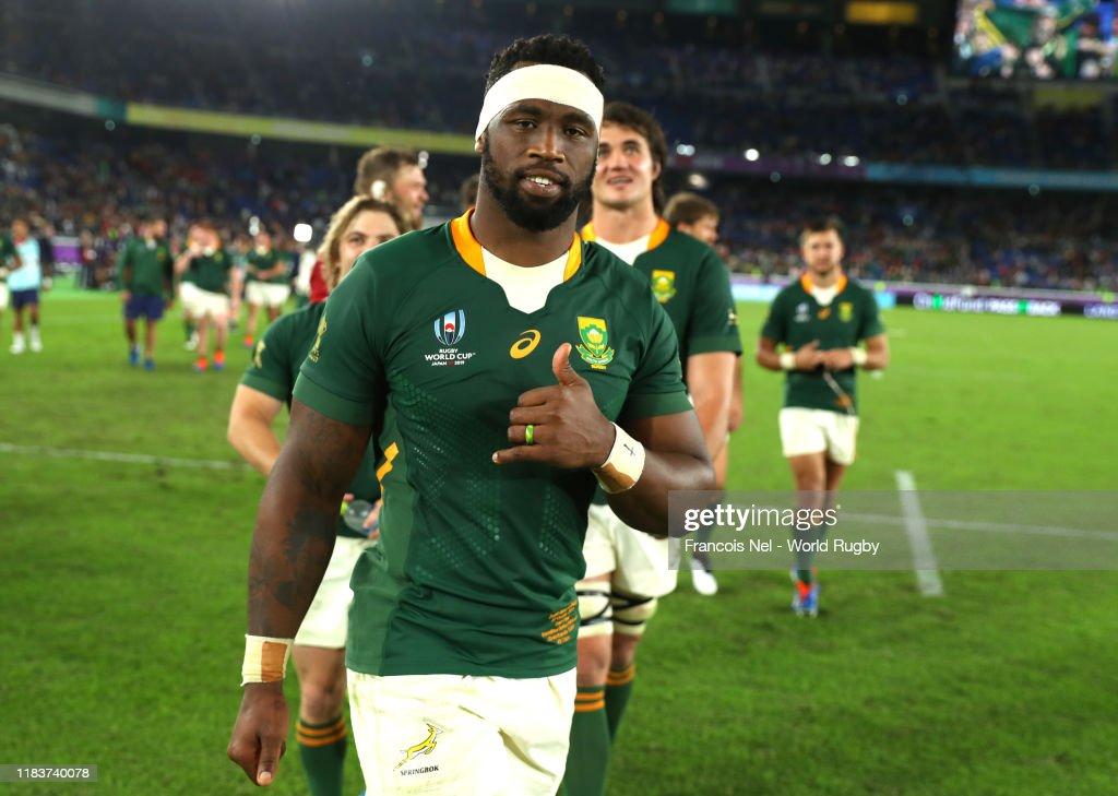 Wales v South Africa - Rugby World Cup 2019: Semi-Final : Fotografía de noticias