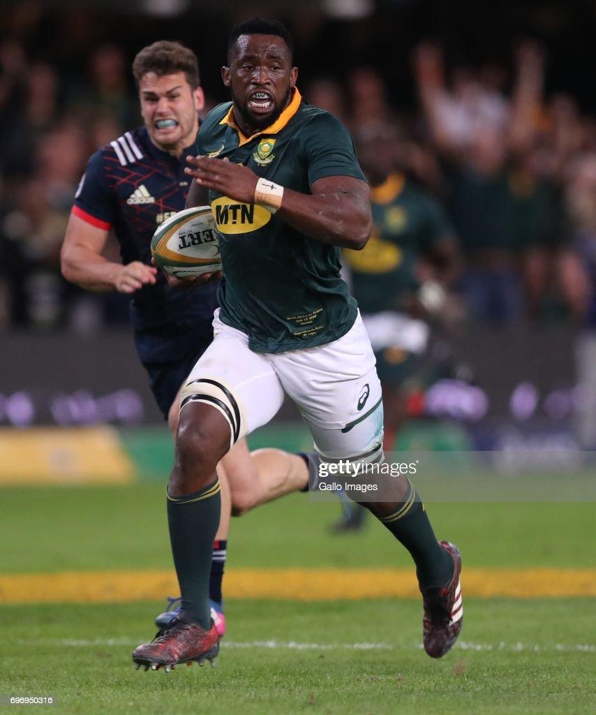 South Africa v France
