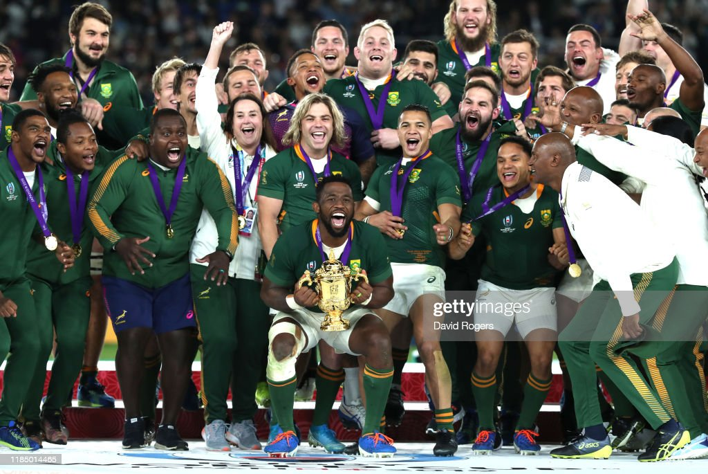England v South Africa - Rugby World Cup 2019 Final : News Photo