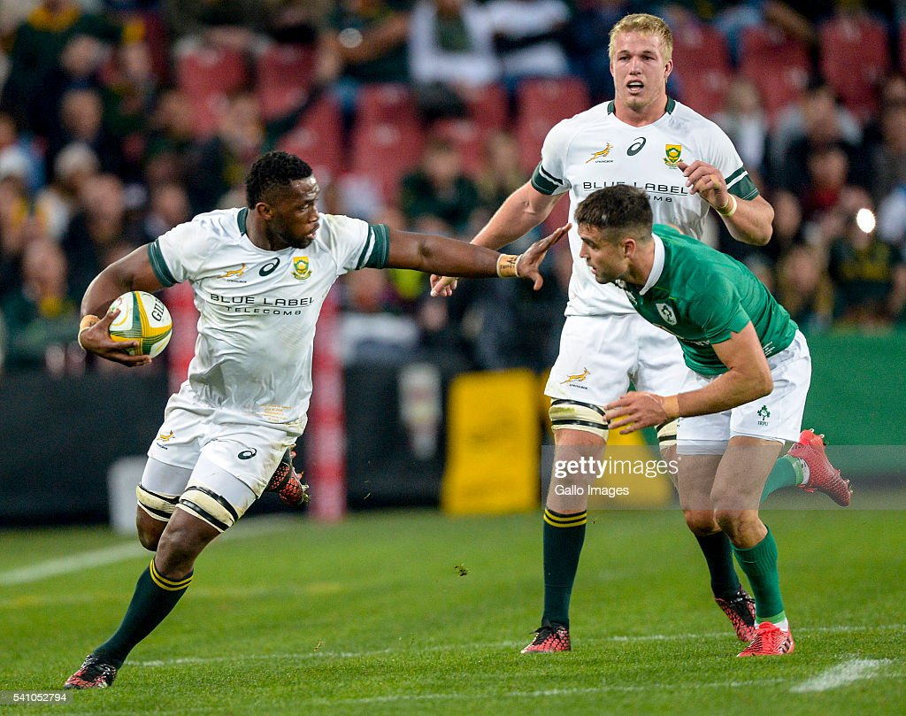 2016 Castle Lager Incoming Series, 2nd Test: South Africa v Ireland : News Photo