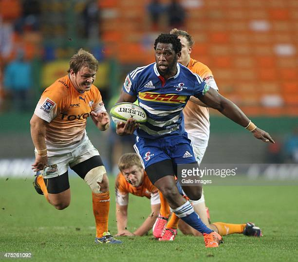 Siya Kolisi of the Stormers during the Super Rugby match between DHL Stormers and Toyota Cheetahs at DHL Newlands Stadium on May 30 2015 in Cape Town...