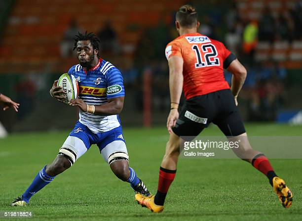 Siya Kolisi of the Stormers during the Super Rugby match between DHL Stormers and Sunwolves at DHL Newlands Stadium on April 08 2016 in Cape Town...