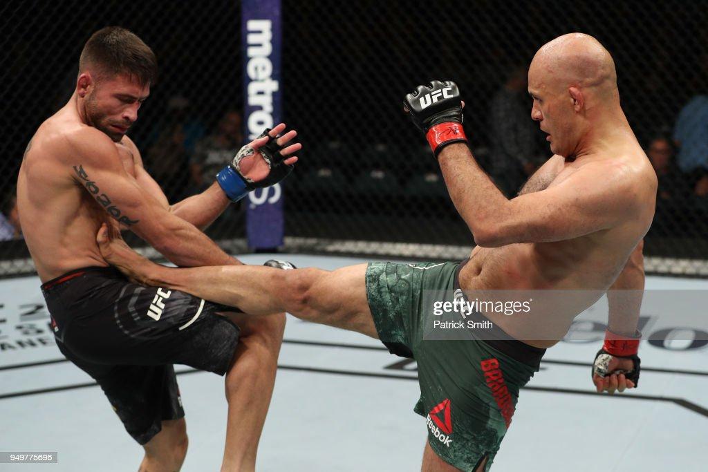 UFC Fight Night: Bahadurzada v Chagas : News Photo