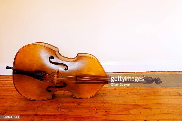 3/4 size double bass.