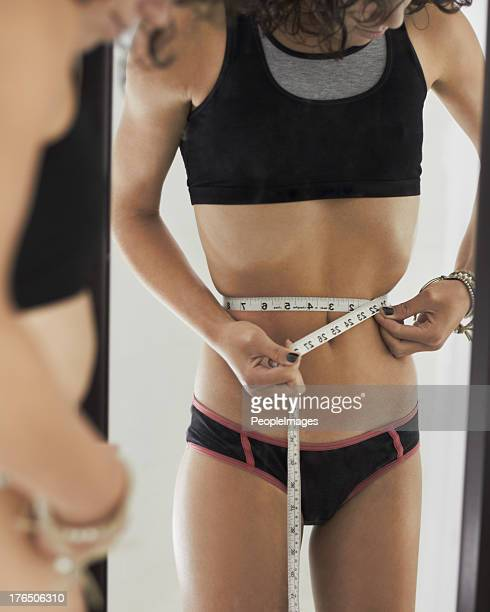 size zero - anorexia nervosa stock pictures, royalty-free photos & images