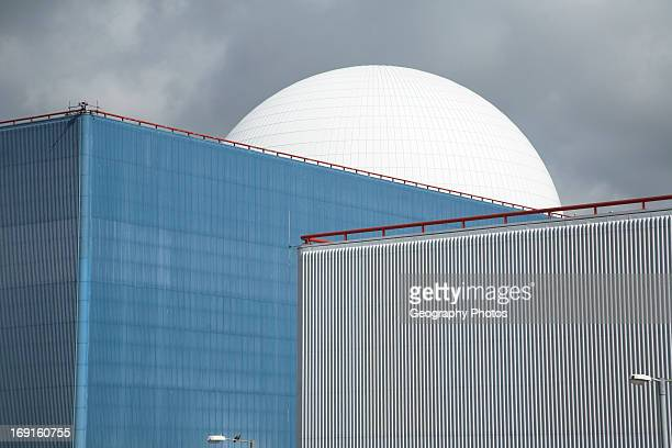 Sizewell nuclear power station Suffolk England