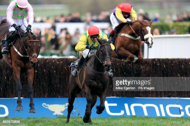 Sizing John ridden by Robbie Power on their way to victory in the Timico Cheltenham Gold Cup on the final day of the 2017 Cheltenham Festival
