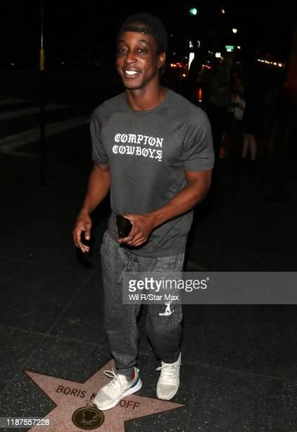 Sjaka Smith is seen on December 9 2019 in Los Angeles California