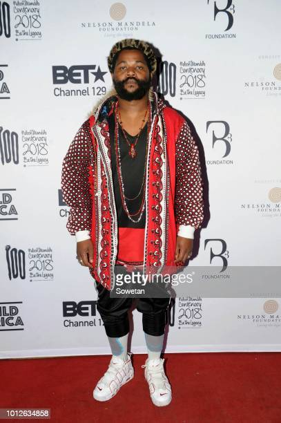 Sjava during the BET Legends night at Moyo Zoo Lake on August 01 2018 in Johannesburg South Africa The event which took place just a few days before...