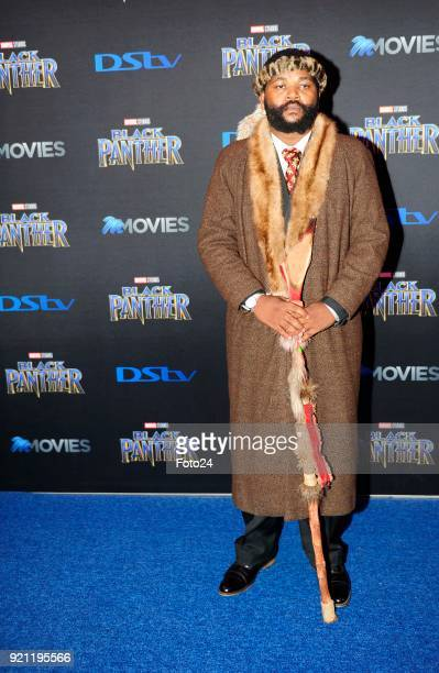 Sjava during the Black Panther movie premiere at Montecasino on February 16 2018 in Fourways South Africa Your culture in South Africa contributed so...