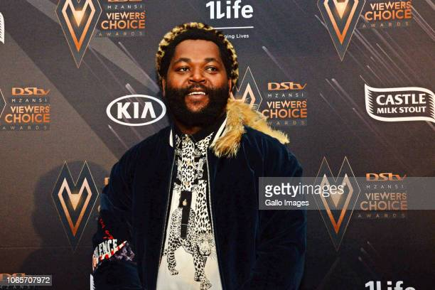 Sjava during the DStv Mzansi Viewer's Choice Awards event at the Sandton Convention Centre on November 24 2018 in Sandton South Africa The DStvMVCA's...